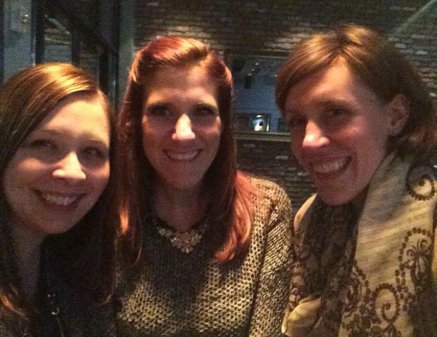 Erin, Laura and Nadine