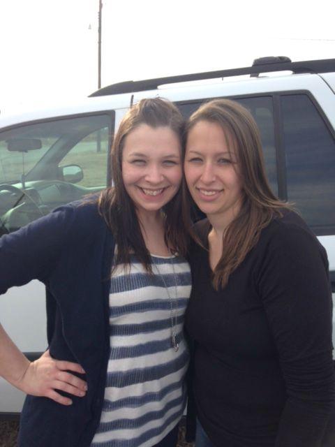 Nadine and Tracy