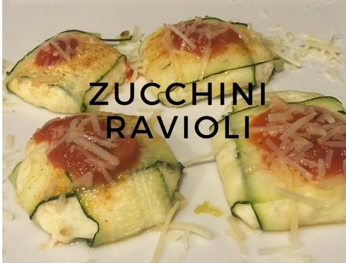 zucchiniravioli