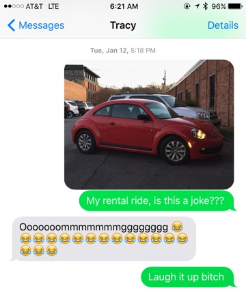 Tracy Text