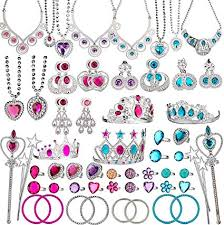 Image result for BeYumi 66 Pcs Princess Pretend Jewelry